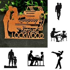 Father's Love Cutting-Dies Metal Stencil DIY Scrapbooking Art Paper Album C L0K1