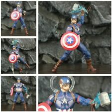 "Avengers 4 Endgame Captain America 6"" Action Figure Steve Rogers Legends Thanos"