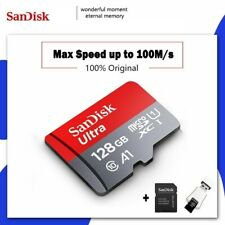 Scandisk Ultra Micro SD 128GB 32GB 64GB 256GB 16G Micro SD Card SD/TF 🔥NEW🔥