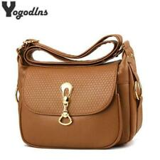 Soft PU Leather Shoulder Crossbody Bags Purse For Women Messenger Bag Lady Small