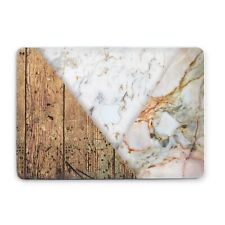 Wooden Marble Macbook Air 13 2018 Hard Shell Geometric Macbook Pro 15 2019 Cover
