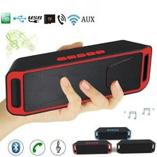 Portable Wireless Bluetooth Speaker High Bass Indoor Outdoor Stereo Loudspeaker