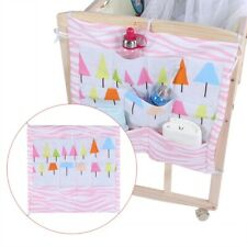 Baby Kid Newborn Crib Cot Bedside Hanging Bag Organizer Diaper Bed Pouch Pocket