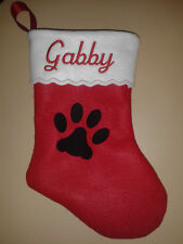 """19/"""" Personalized Felt Christmas Stocking Order early for quick service. One"""