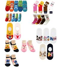 Women's Winnie the Pooh Collection Crew Ankle No Sow Socks