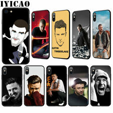 Justin Timberlake Soft Case for iPhone 11 Pro XS MAX XR X 8 7 6 6S Plus 5 5S