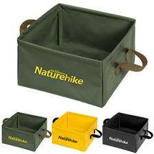 Camping Folding Bucket Hiking Collapsible Outdoor Water Container Basin