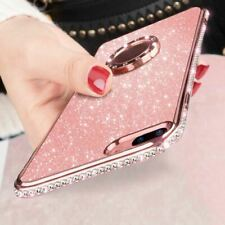 Bling Diamond Magnetic Finger Ring Case For Xiaomi Redmi 6 6A 6 Pro Note 5 8 SE