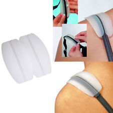Soft Silicone Bra Strap Cushions Holder Non-slip Shoulder Pads Relief Pain - UK
