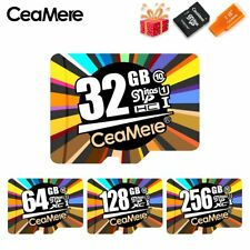 CeaMere Flash Memory Card 16GB 64GB U3 UHS-3 32GB Micro SD Card Class10 UHS-1 TF