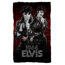 ELVIS PRESLEY COMBACK PERFORMANCE FLEECE OR PLUSH THROW BLANKET 36X58