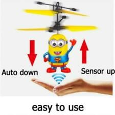 minion Flying RC helicopter toy drone remote control aircraft Controls Kids Toy