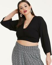 Womens Co-Ord Wrap Blouse Simply Be