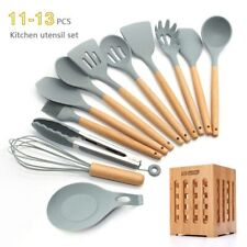 Silicone Cooking Utensils 11/12/13Pcs Kitchen Utensil Set Non-stick Spatula