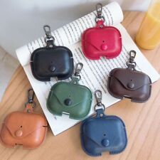 For Apple Airpods Pro Charging Case PU Leather Earphone Protective Case Cover