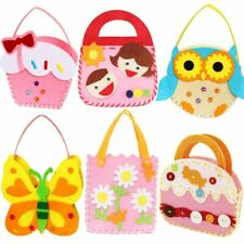 DIY Training Toy Children Sewing Craft Non-Woven Cloth Colorful Handmade Bag