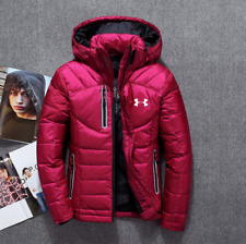 Women's Under Armour Winter UA Down Hooded Jacket Down Coat Parka High Quality