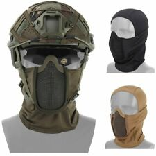 Tactical Headgear Mask Airsoft Half Face Mesh Mask Cycling Hunting Paintball