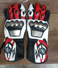 MotoGp Motorbike Racing Leather Gloves All Sizes Available