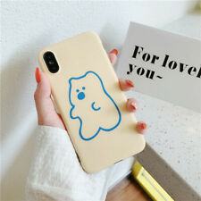Fashion Luxury Cute Bear Silicone iPhone Case Cover For iPhone11Pro XR XS MAX