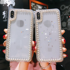 Luxury Pearl Fashion iPhone Case Cover For iPhone X / XS Max XR 11 Pro Max Cover