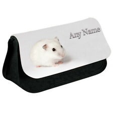 Personalised NAME Hamster Printed Pencil Case for Stationery/Cosmetic - 9