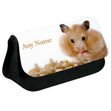 Personalised NAME Hamster Printed Pencil Case for Stationery/Cosmetic - 8