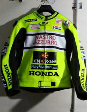 Honda HRC MotoGp Motorcycle Motorbike Leather Racing Jacket All Size Available