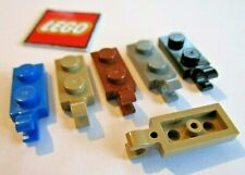 Modified 1 x 2 with Clip Horizontal End PM116 LEGO BLACK x 10 PLATE 63868