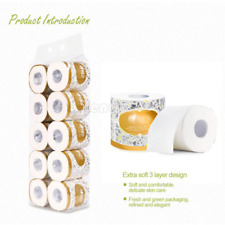 Toilet roll Paper Bulk Rolls Bath Tissue Bathroom Soft 3Ply Household Papers