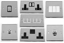 G&H Polished Chrome Light Switches, Plug Sockets, Toggle & Dimmer Switches