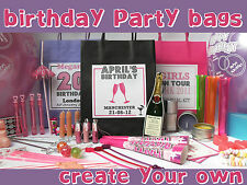 BIRTHDAY PARTY PERSONALISED GIFT BAG FILLED - ADULT -GIRLS NIGHT OUT-PAMPER-HEN