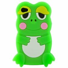 Cute Adorable 3D Animal Frog Soft Silicone Case Back Cover Skin For iPhone 5 6th