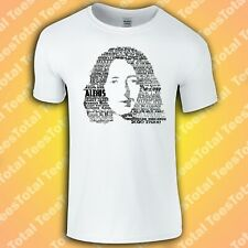 Rory Gallagher Songs T-Shirt (Rock/Guitar Legend/Ireland/Hendrix)