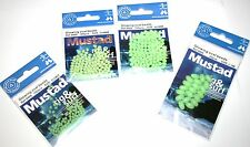 Mustad Glowing Oval Beads Four sizes available -