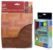 Microfibre Cleaning Cloths or Micro Fibre Floor Cloth for All Floor Types