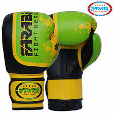 Boxing Gloves Sparring Training MMA Kick Muay Thai Bag Mitts Pads Gloves