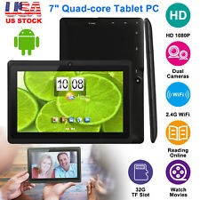 "2019 New Android 7"" 9""Tablets PC Quad Core HD 8GB Dual Camera WiFi Multi-touch"