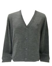 Fred Perry Cardigan Strickjacke Anthrazit #5233