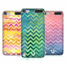 HEAD CASE DESIGNS WATERCOLOUR CHEVRON CASE COVER FOR APPLE iPOD TOUCH 5G 5TH GEN
