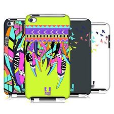 HEAD CASE DESIGNS NEON FEATHER CASE COVER FOR APPLE iPOD TOUCH 4G 4TH GEN