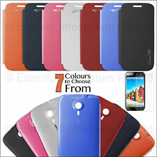 Flip Cover Back Replace Book Case for Micromax A116 Canvas HD + Matte Screen