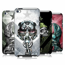 HEAD CASE DESIGNS METAL CHEVRON CASE COVER FOR APPLE iPOD TOUCH 4G 4TH GEN