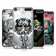 HEAD CASE DESIGNS METAL CHEVRON CASE COVER FOR APPLE iPOD TOUCH 5G 5TH GEN