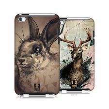 HEAD CASE DESIGNS POLY SKETCH CASE COVER FOR APPLE iPOD TOUCH 4G 4TH GEN