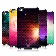 HEAD CASE PRINTED STUDDED OMBRE BACK CASE COVER FOR APPLE iPOD TOUCH 4G 4TH GEN