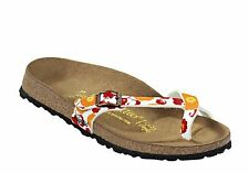 Papillio by Birkenstock Piazza fantasy flowers orange Gr. 40 normales Fußbett
