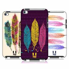 HEAD CASE DESIGNS AZTEC FEATHERS CASE COVER FOR APPLE iPOD TOUCH 4G 4TH GEN