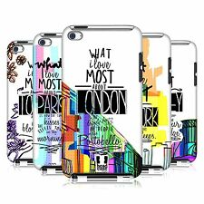 HEAD CASE DESIGNS CITY LOVE CASE COVER FOR APPLE iPOD TOUCH 4G 4TH GEN