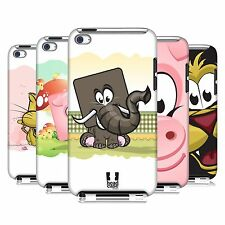 HEAD CASE DESIGNS SQUARE FACE ANIMALS CASE COVER FOR APPLE iPOD TOUCH 4G 4TH GEN